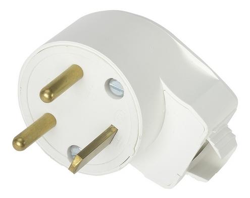 Prise electrique 20a male coude a monter erard connect - Prise electrique male ...