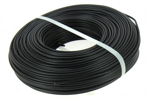 fil electrique h07v u 1 5 mm noir bobine de 100 m miguelez. Black Bedroom Furniture Sets. Home Design Ideas