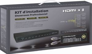 PACK INSTALLATION HDMI 8 TV ERARD CONNECT